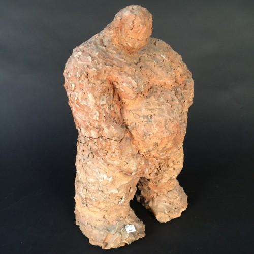 Maria Teknetzis Terracota Sculpture - Circa 1980