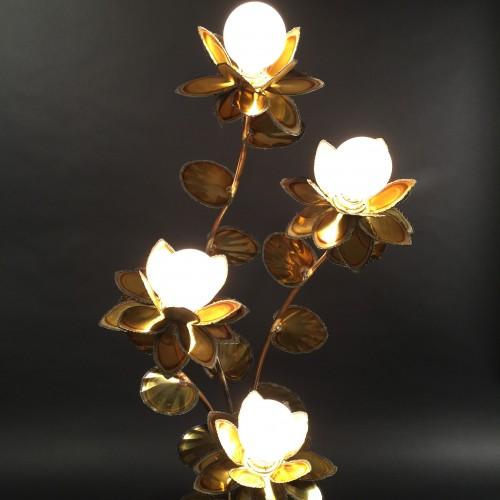 Brass Floor Lamp By Maison Jansen - Paris 1960 - 1970