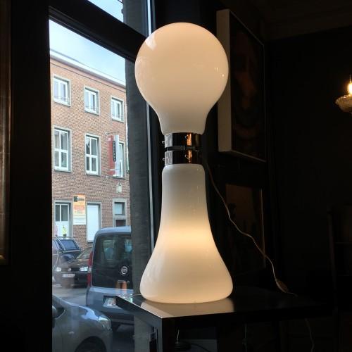 Large Floor Lamp - Carlo Nason for Mazzega - ITALY - Circa 1970 - 1 meter high