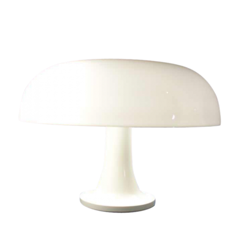 "Giancarlo Mattioli, ""Nessino"" Mushroom polycarnoinate lamp, Artemide, 1970"