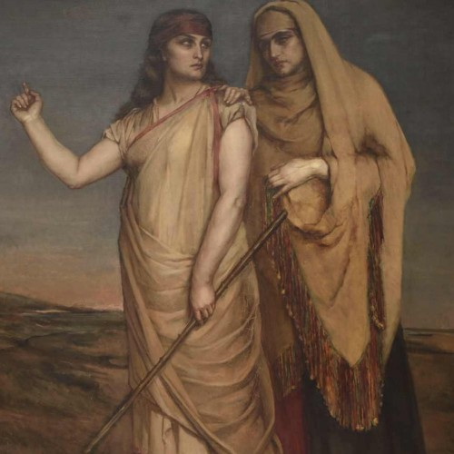 Jean-François Portaels (attributed), great & large symbolist orientalist painting, 19th century