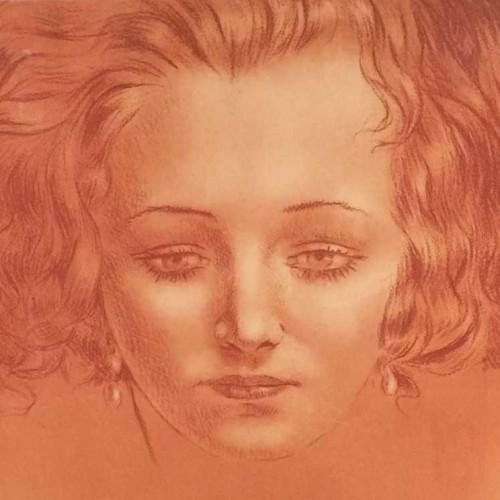 "Henri Thomas Engraving - "" Epreuve d'Artiste """