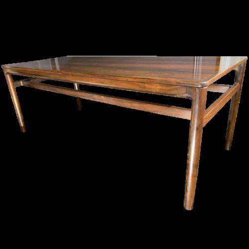 KURT ØSTERVIG for Jason Møbler, Scandinavian Rosewood Coffee / Lounge Table, Denmark 1950s