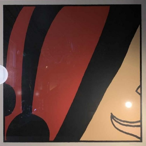 HUGO PRATT 'Tango' Large Signed Screenprint Numbered 27/70 framed, 1986