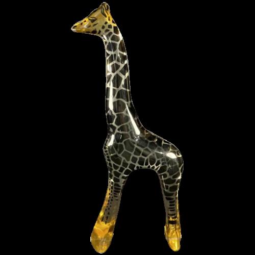 "ABRAHAM PALATNIK ' Large Giraffe "" Kinetic Lucite Resin Animal Sculpture, 1960s"